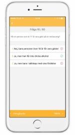 Serveringstillstånd app